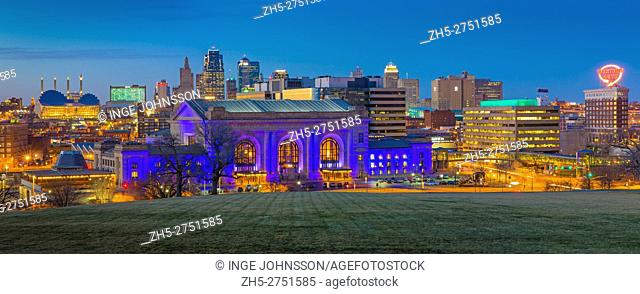 Kansas City (often referred to as K. C. ) is the most populous city in the U. S. state of Missouri. In 2010, it had a population of 459, 787