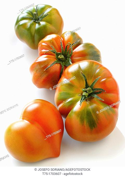 Tomatoes with heart