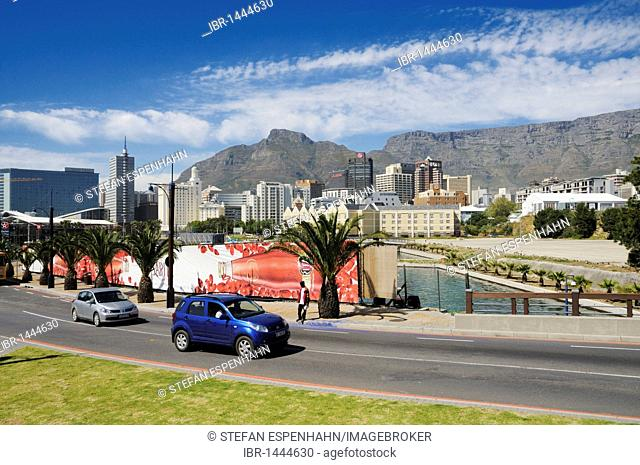 City center of Cape Town, Table Mountain, Foreshore, Cape Town, South Africa, Africa