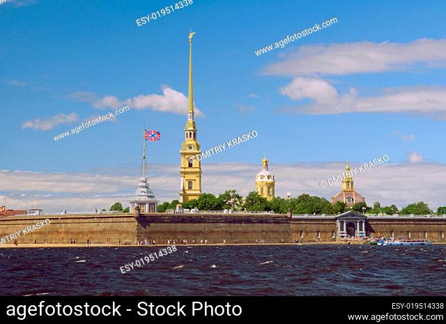Russia, Saint-Petersburg, Peter and Paul Fortress