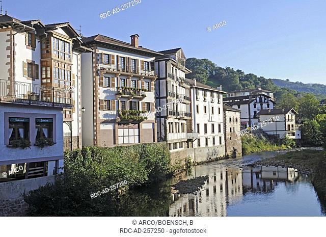 Elizondo Baztan Valley Pyrenees province Navarre Spain Pais Vasco