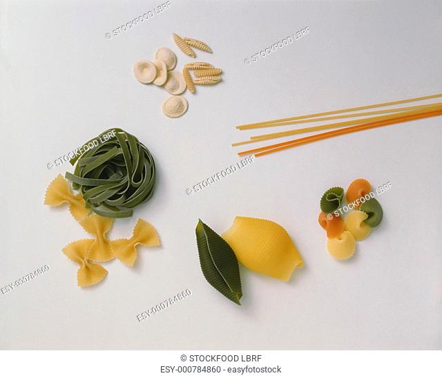 Assorted Pasta Shapes