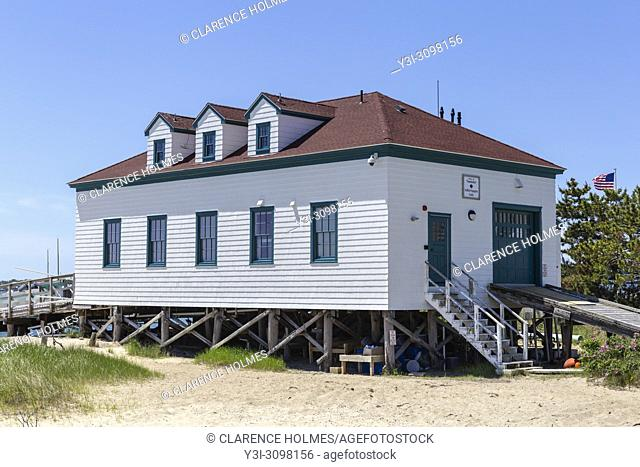 The Shellfish Propagation Facility on Brant Point in Nantucket, Massachusetts