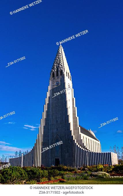 Hallgrímskirkja in Reykjavic, Iceland