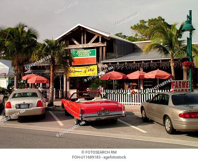 Venice, FL, Florida, Englewood, Coconut Grove Restaurant, shops