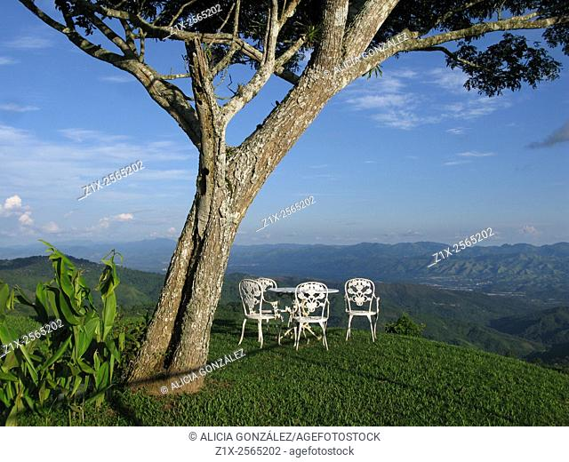 Beautiful lansdcape in Paracotos, Miranda State, Venezuela