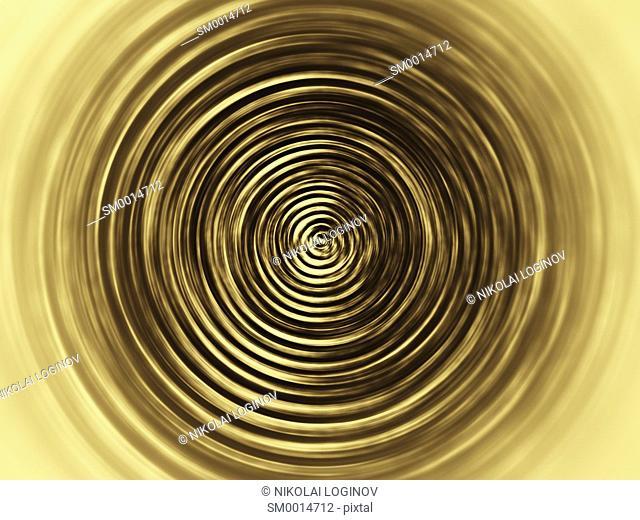 Horizontal sepia twirl background