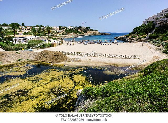 Cala Murada,Manacor, Majorca, Balearic Islands, Spain