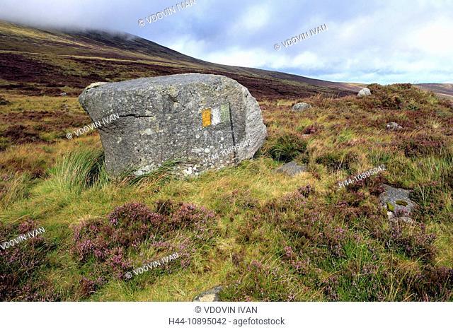 Eire, Europe, European, Ireland, Irish, Western Europe, travel destinations, Landscape, nature, Wicklow mountains, Dublin, stone