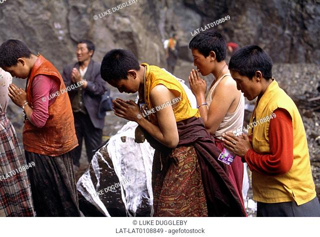 Yunnan is a province in the south of China. It is home to the sacred waterfall Yubeng Shenpu which is often visited by Buddhists