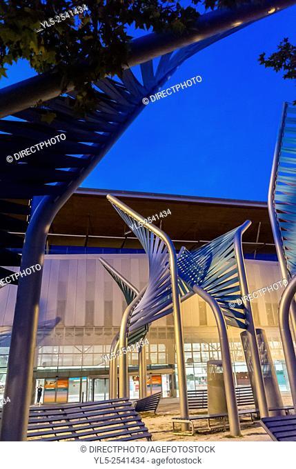 Barcelona, Spain, CCIB Convention Center, Building