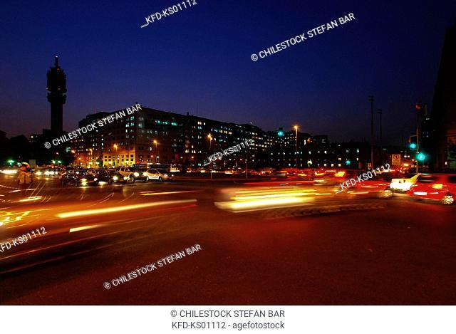 Chile, Santiago, Libertador General Bernardo O'higgins Avenue