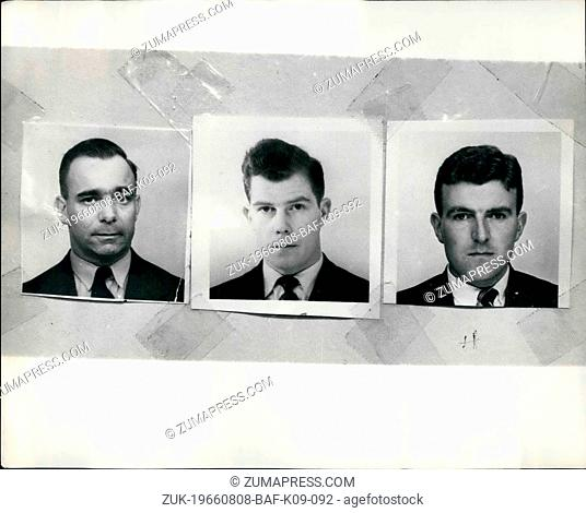 Aug. 08, 1966 - THREE POLICEMEN SHOT DOWN IN A LONDON STREET. In London yesterday afternoon three London Policemen were shot down in the street