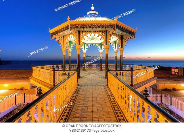 The Victorian Bandstand, Brighton, England
