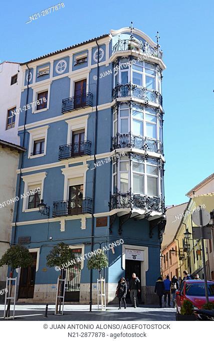 Pablo Monguio's Casa Bayo or Casa de los Retales. Teruel, Aragón, Spain, Europe