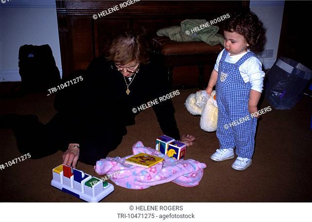 Great Grandmother & Grandchild