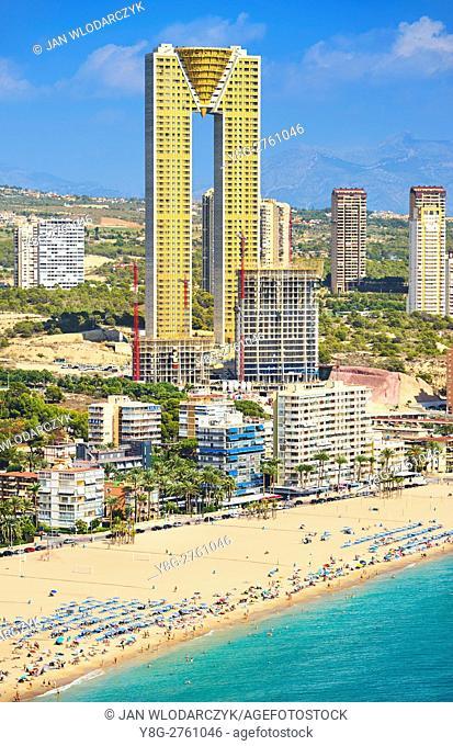 Benidorm Beach, Spain