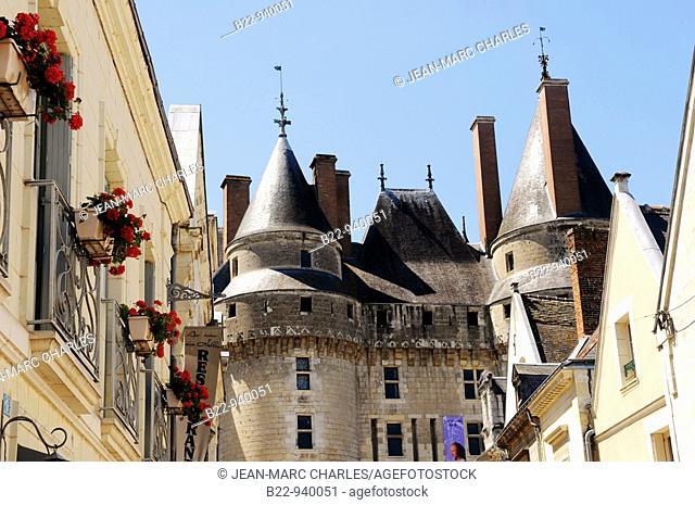 Castle of Langeais, Indre-et-Loire, Loire Valley, Centre, France