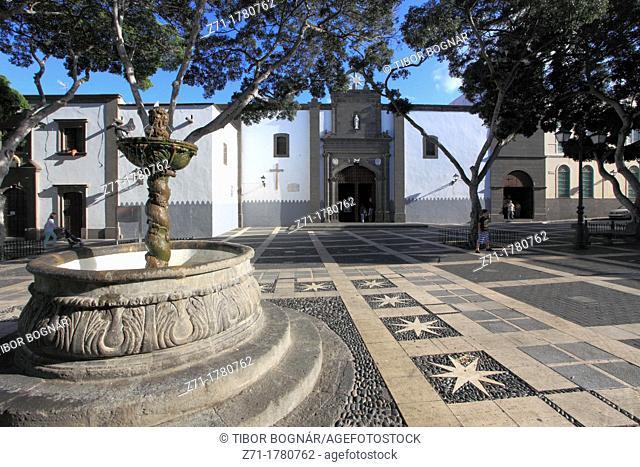 Spain, Canary Islands, Gran Canaria, Las Palmas, Plaza de Santo Domingo