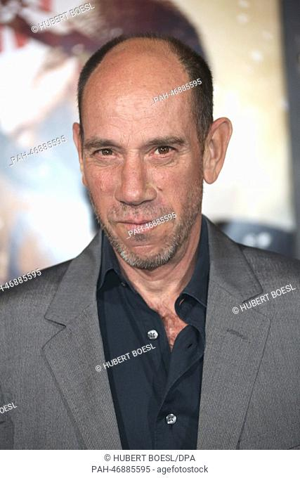 Actor Miguel Ferrer attends the premiere of 300: Rise Of An Empire at TCL Chinese Theatre in Los Angeles, USA, on 04 March 2014