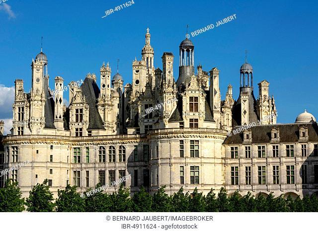 Chateau de Chambord, Loire Valley, Loir-et-Cher department, Centre-Val de Loire, France