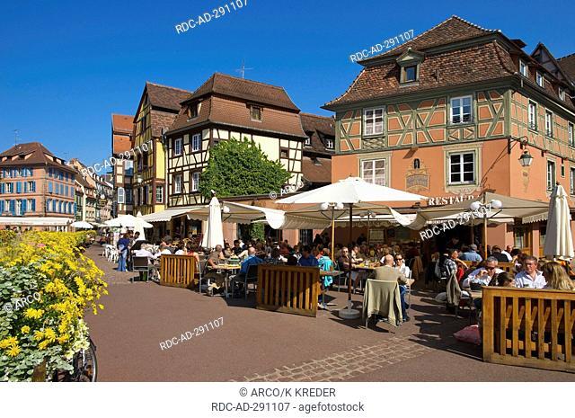 Quartier des Tanneurs, Petite Venise, Colmar, Alsace, France