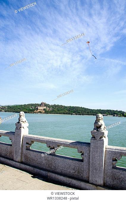 Summer Palace in Beijing scenery