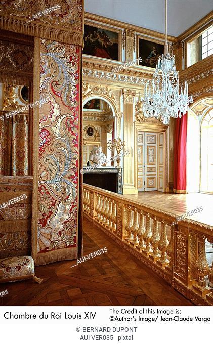 Palace of Versailles - Chambre du Roi Louis XIV