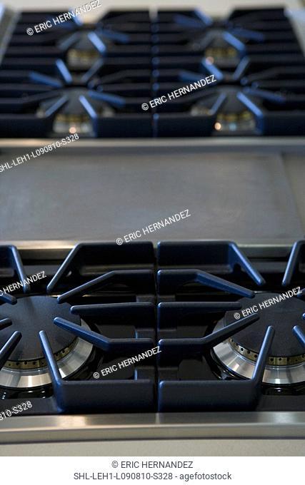 Detail stove top
