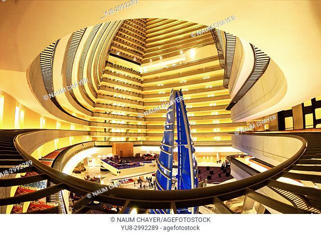 Inside Marriott Hotel , Atlanta , capital of Georgia, USA