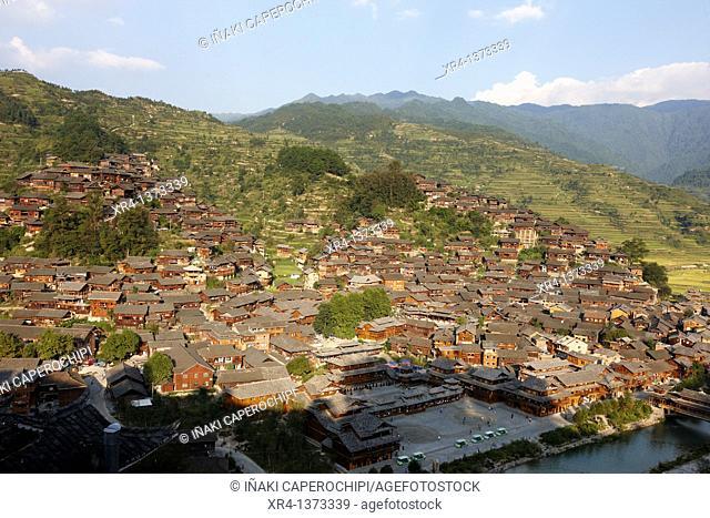 Xijiang village, Xijiang, Guizhou, China