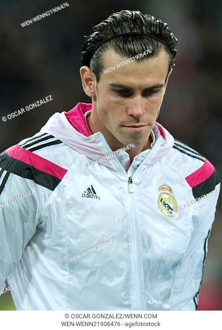 La Liga match between Real Madrid and Rayo Vallecano at the Santiago Bernabeu stadium Featuring: Gareth Bale Where: Madrid