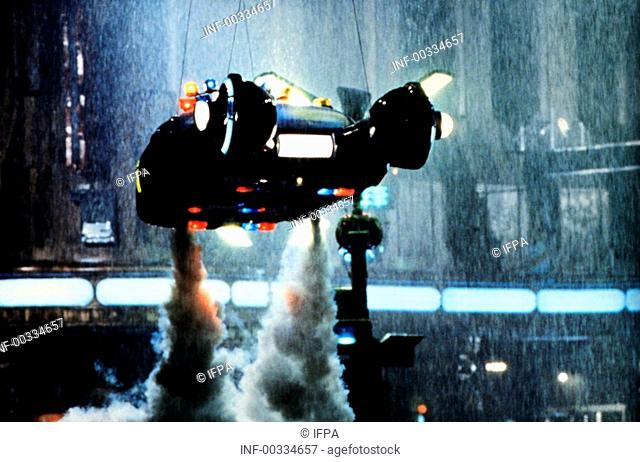 Film 'Der Blade Runner' USA 1982, Regie: Ridley Scott, Filmszene   science fiction, los angeles 2019, zukunftsvision, zukunft, thriller, action, raumschiff
