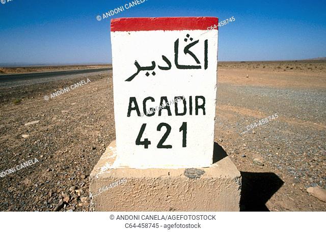 Milestone, Morocco