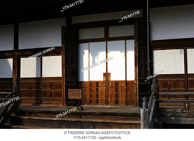 Shrine in the Higashiyama walking course in Takayama, Gifu Prefecture, Japan, Asia