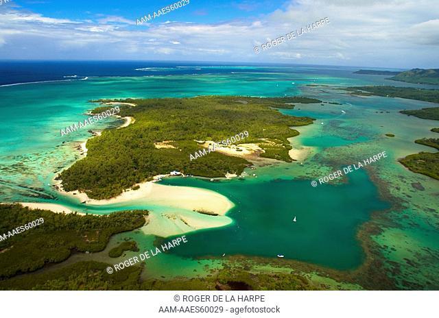 Ile aux Cerfs. Mauritius