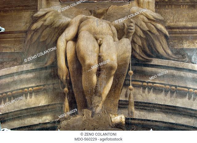 Assumption of the Virgin, by Allegri Antonio known as Correggio, 1526 - 1530, 16th Century, fresco. Italy, Emilia Romagna, Parma, Santa Maria Assunta Cathedral
