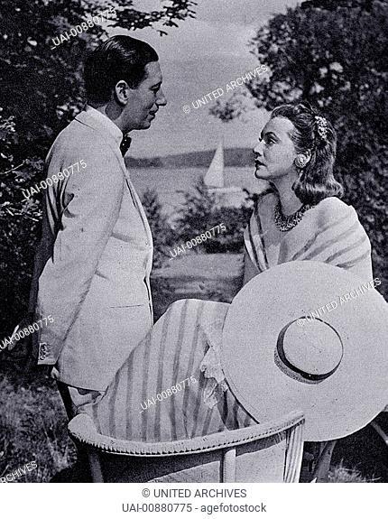 DER BLAUFUCHS D 1938 / Viktor Tourjansky WILLY BIRGEL - Tribor, ZARAH LEANDER - Ilona / DER BLAUFUCHS