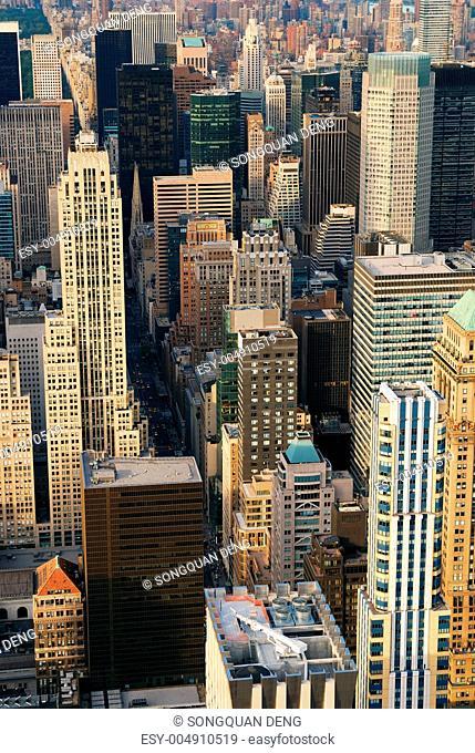 New York City Manhattan skyscrapers