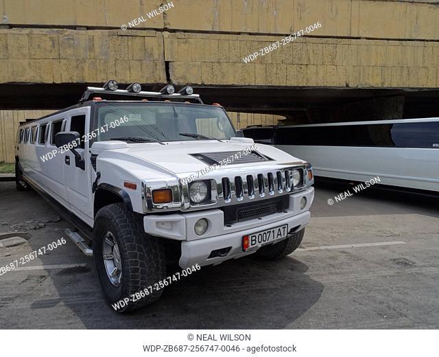limousine in Bishkek