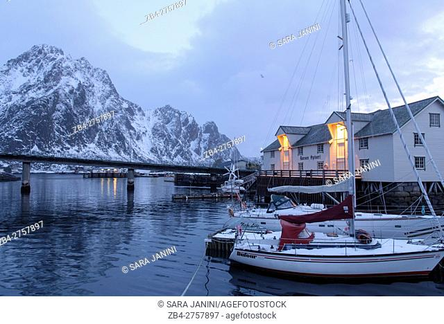 Svolvær, Lofoten Islands, Nordland County, Norway, Europe