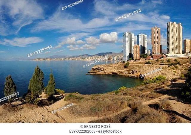 Benidorm - Spanien - * Panoramabild