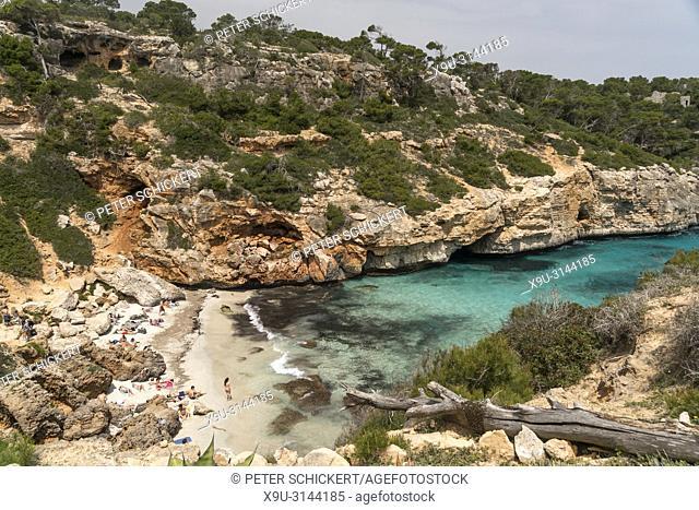 Calo des Moro, Santanyí, Mallorca, Balearen, Spanien | Calo des Moro, Santanyí, Majorca, Balearic Islands, Spain,
