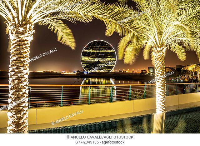 Aldar Headquarter circular building, Abu Dhabi, UnIted Arab Emirates