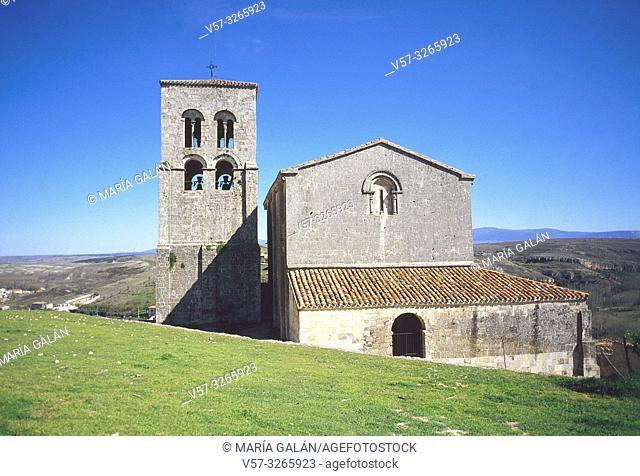 El Salvador church. Sepulveda, Segovia province, Castilla Leon, Spain
