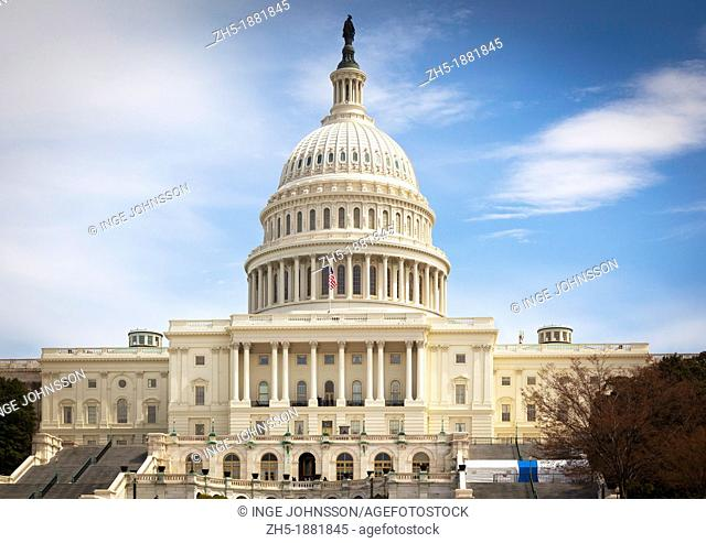The United States Capitol is the meeting place of the United States Congress, the legislature of the federal government of the United States  Located in...