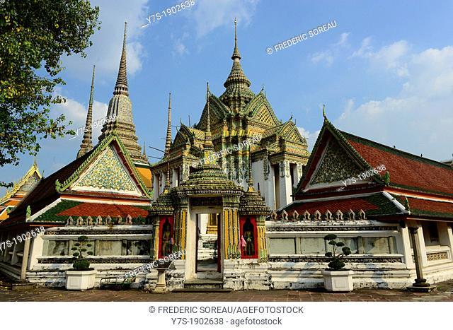 Thailand, Bangkok, Wat Pho temple
