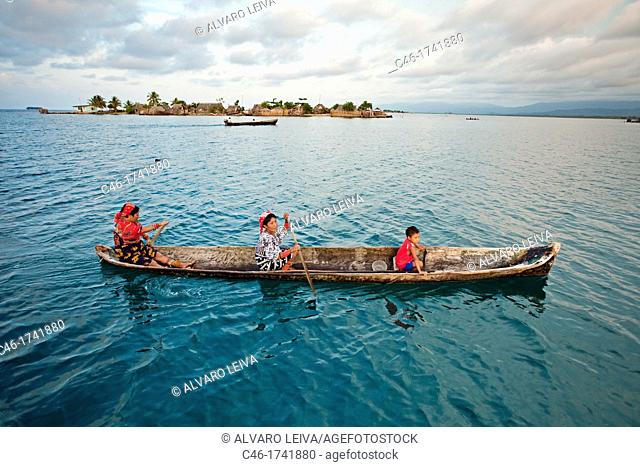 Sugdup island, San Blas Islands also called Kuna Yala Islands, Panama