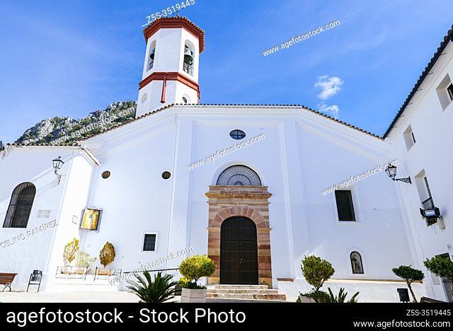 Parish Church of Nuestra Señora de la O. Ubrique, Cádiz, Andalucia, Spain, Europe