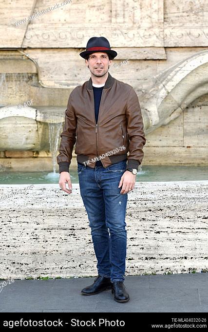 Francesco Montanari during 'La volta buona' film photocall, Rome, 04/03/2020